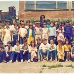 ГЕН. 1974. СА УЧИТЕЉИЦОМ МИРОМ РУСОВИЋ