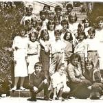 ГЕНЕРАЦИЈА 1973. СА НАСТАВНИЦОМ РУСКОГ  Ј. РАДОМ КУЗЕЉЕВИЋ