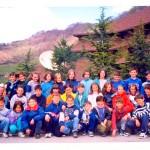 Генерација 1987., Одељење 3-6 на рекреативној настави на Копаонику, учитељица Милка Митровић