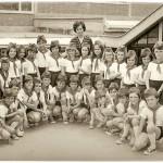 ГЕНЕРАЦИЈА 1968. СА УЧИТЕЉИЦОМ МИЛИЦОМ СТЕФАНОВИЋ, у припреми слета 20.05.1977. године