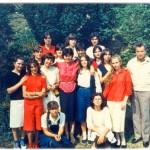 ГОДИШТЕ 1967. СА РАЗРЕДНИМ МУТАВЏИЋЕМ И НАСТАВНИЦОМ МИЛИНОМ БРАЛОВИЋ