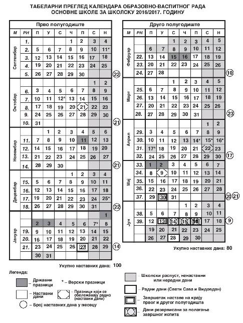 kalendar 16-17