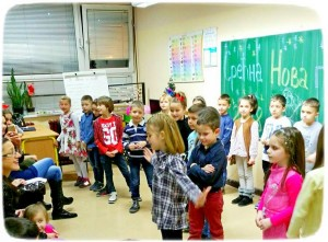 Новогодишња приредба ученика I-3 одељења